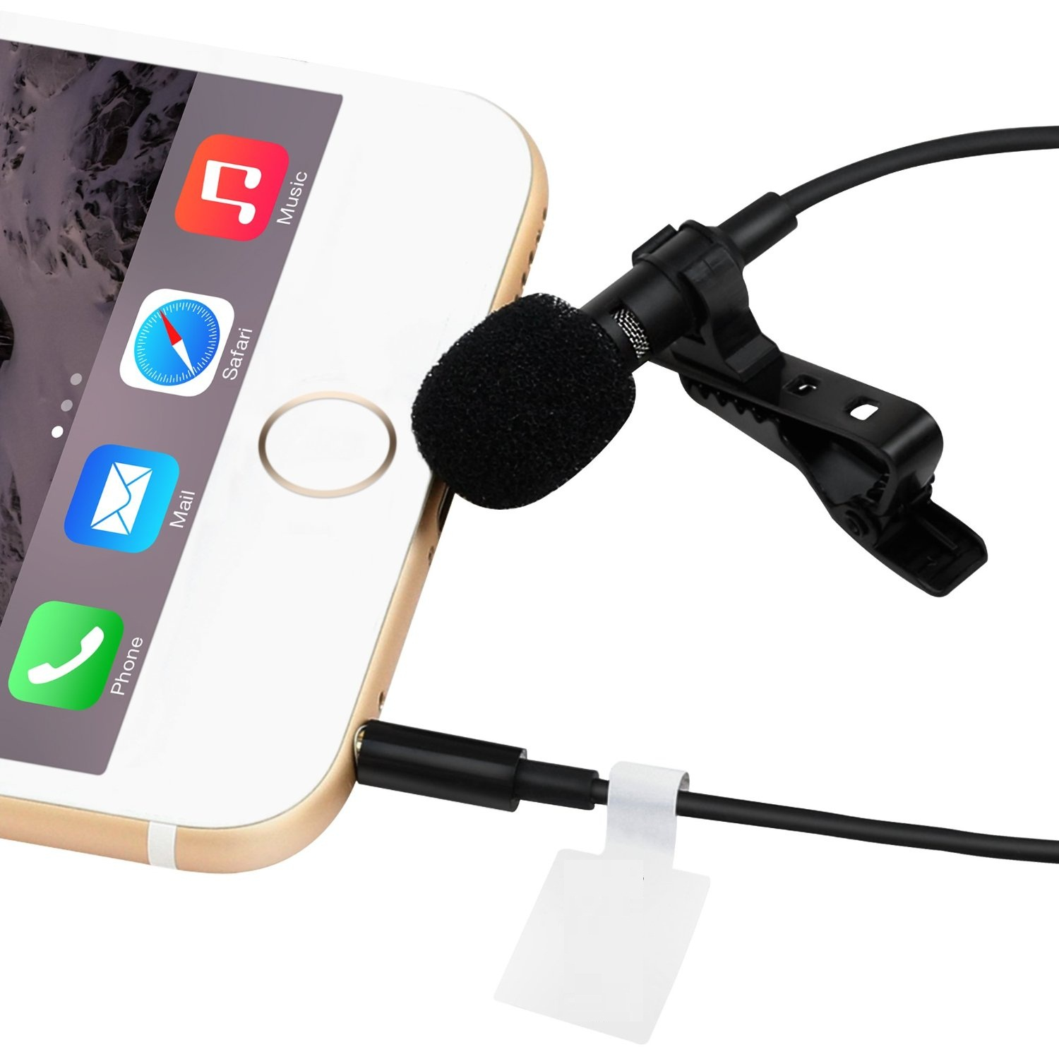 Lavalier microphone lapel microphone