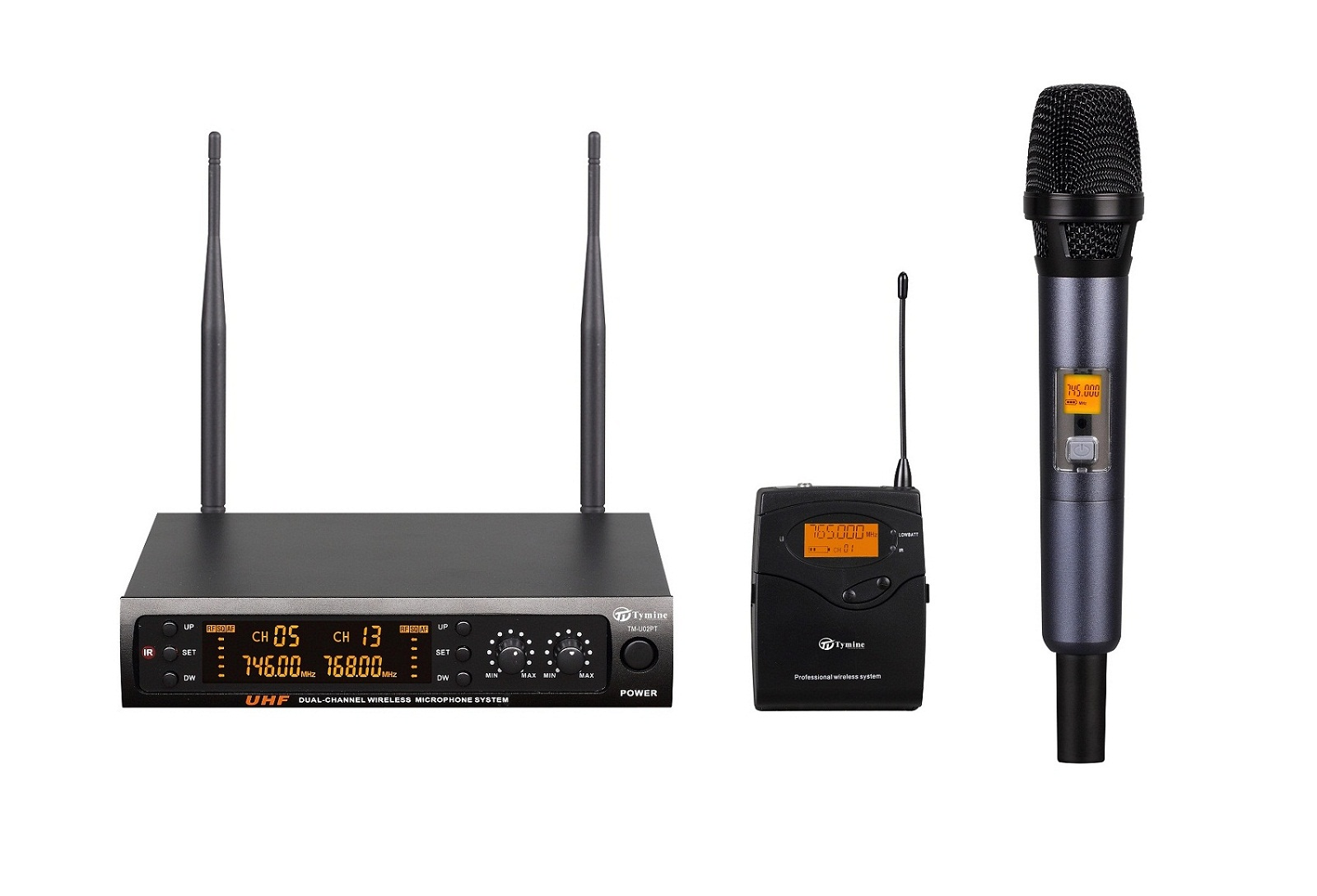 PLL 160 Channels UHF wireless microphone